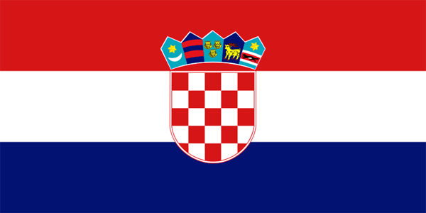 Bandera de Croacia