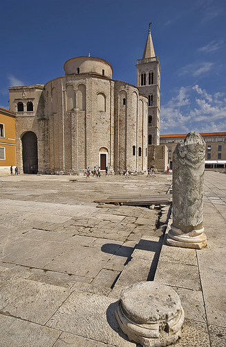 Iglesia de San Donato en Zadar