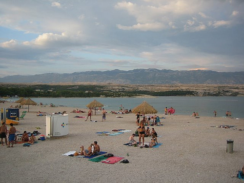 Playa de Zrce