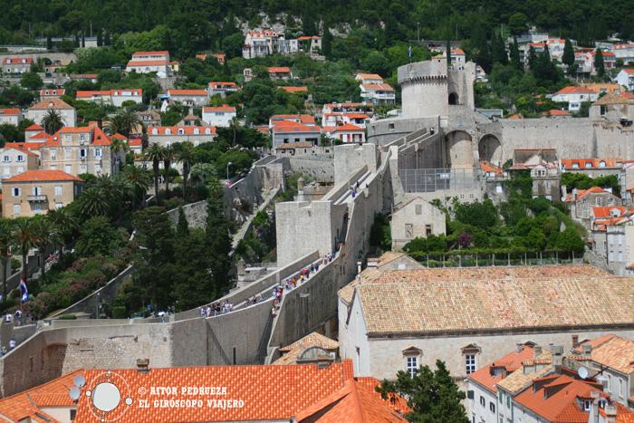 La Torre Mircella, el punto más alto de las murallas
