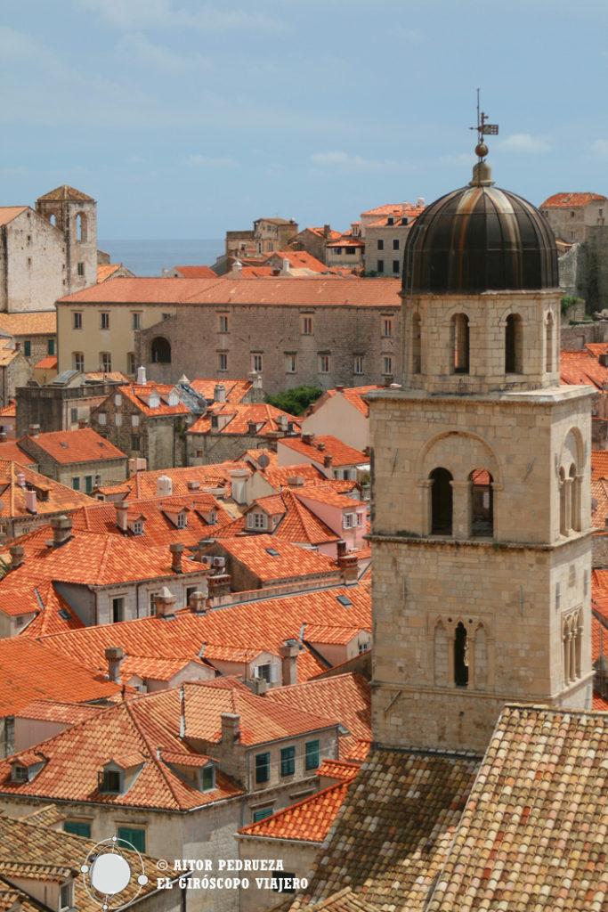 Vistas de Dubrovnik desde las murallas