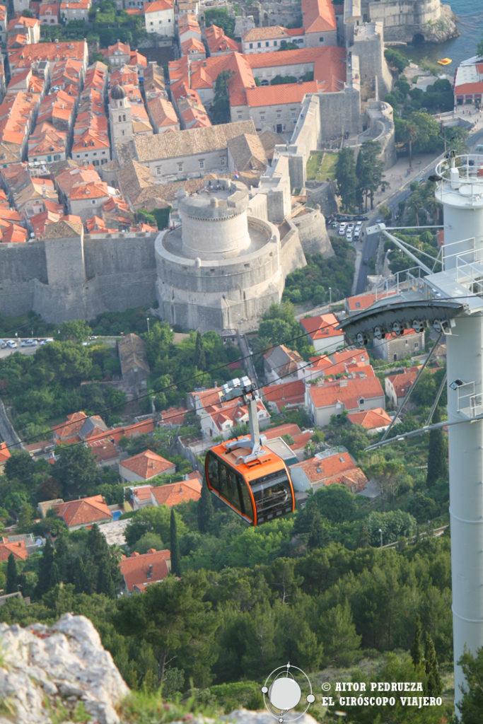 Teleférico / Cable Car de Dubrovnik