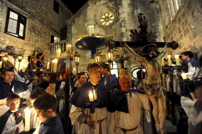 Semana Santa en Croacia