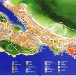 Mapa, callejero y plano de Dubrovnik en Croacia