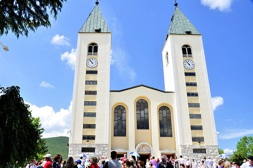 Santuario de Medjugorje  en Bosnia