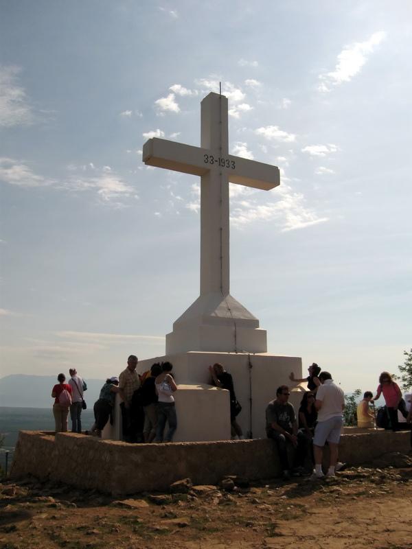 Cruz en Medjugorje