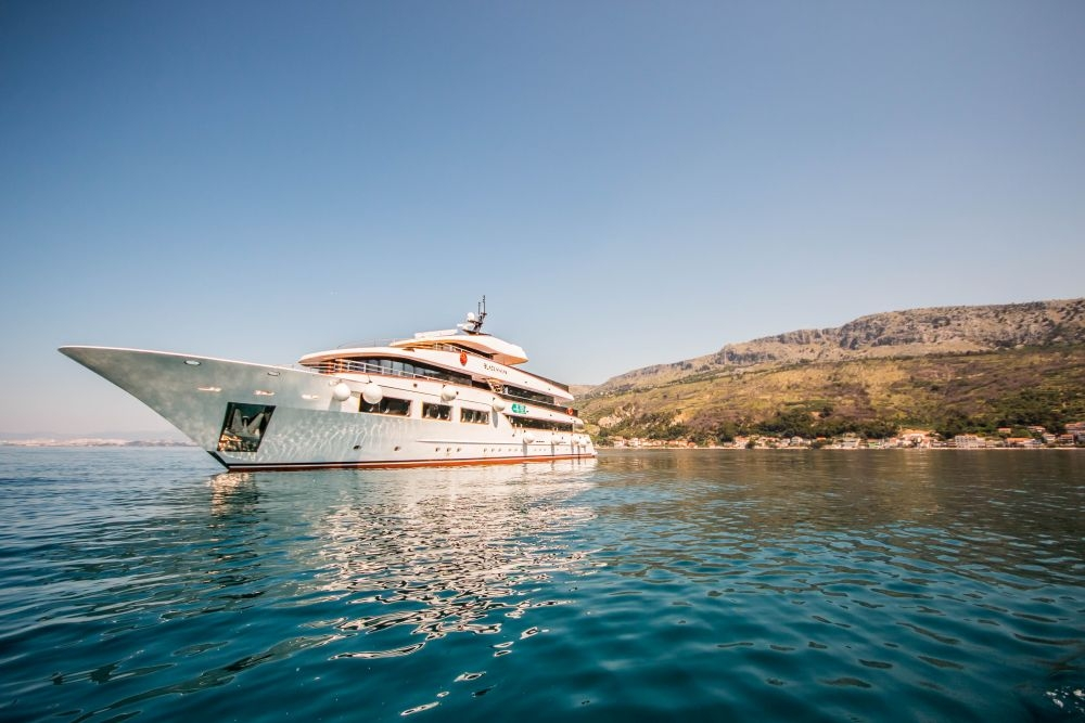 Crucero de lujo por las Islas Dálmatas de Croacia