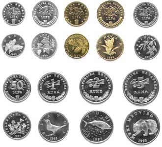 Kunas , la moneda de Croacia
