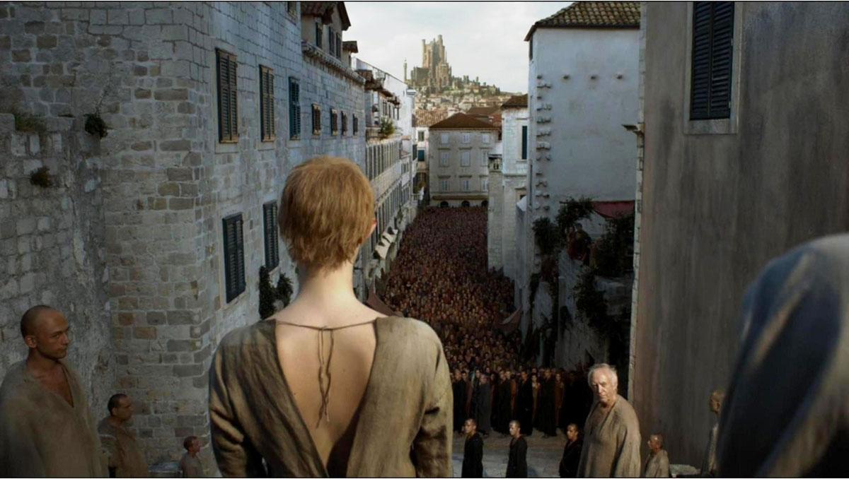Una de las escenas más emblemáticas de Juego de Tronos grabada en Dubrovnik
