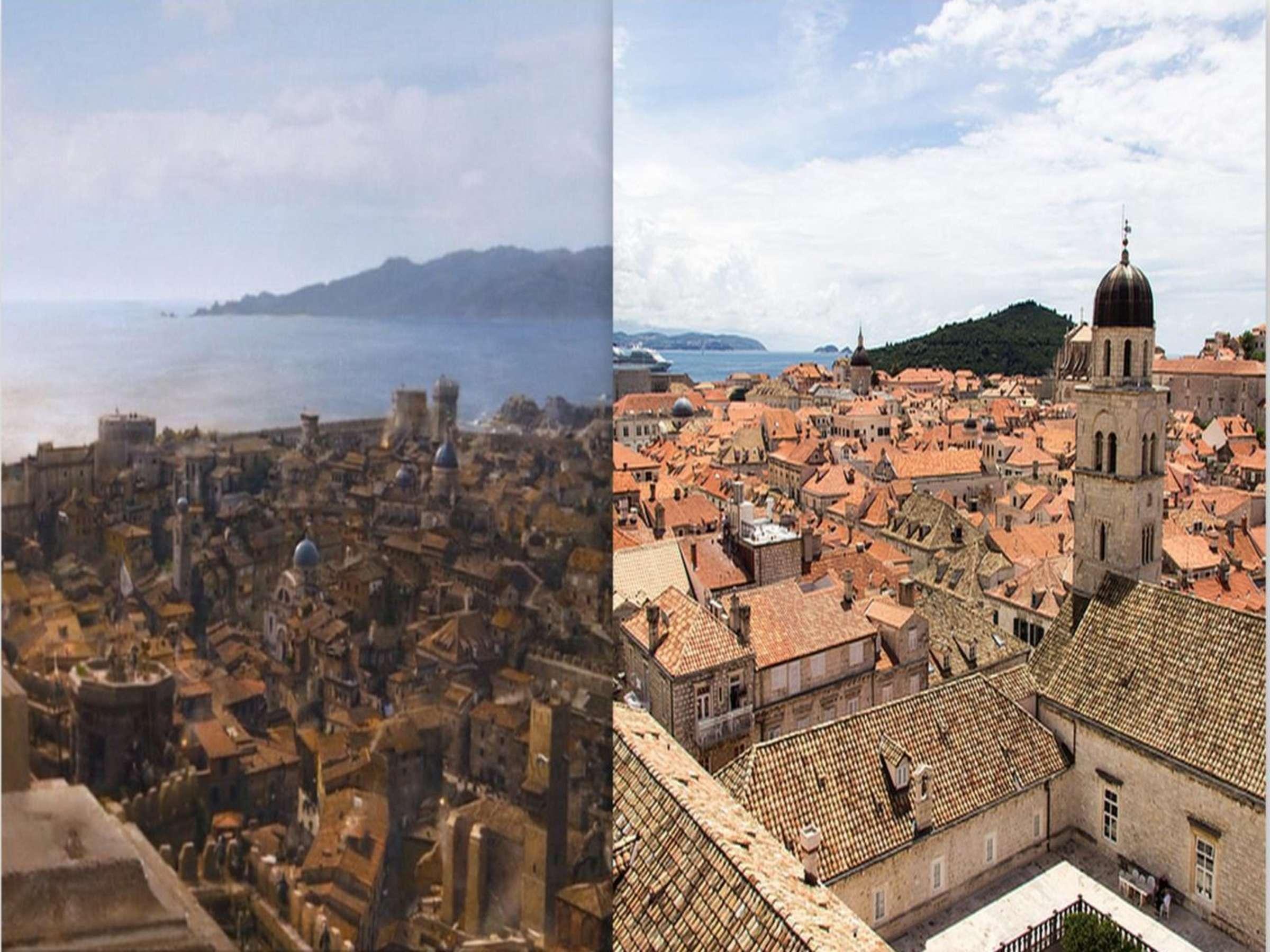 Dubrovnik fue la ciudad de Desembarco del rey en Juego de Tronos