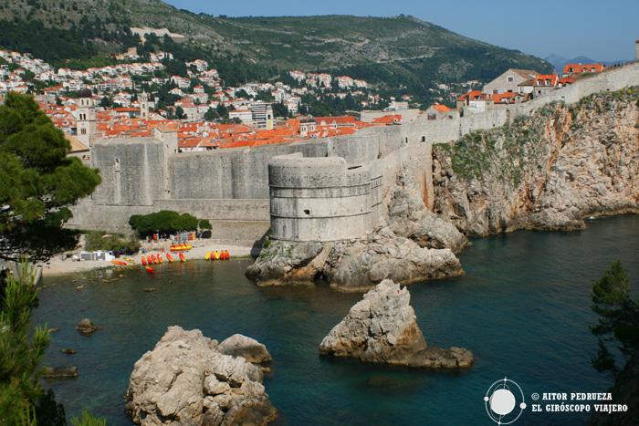 Las murallas de Dubrovnik, imagen típica de Croacia