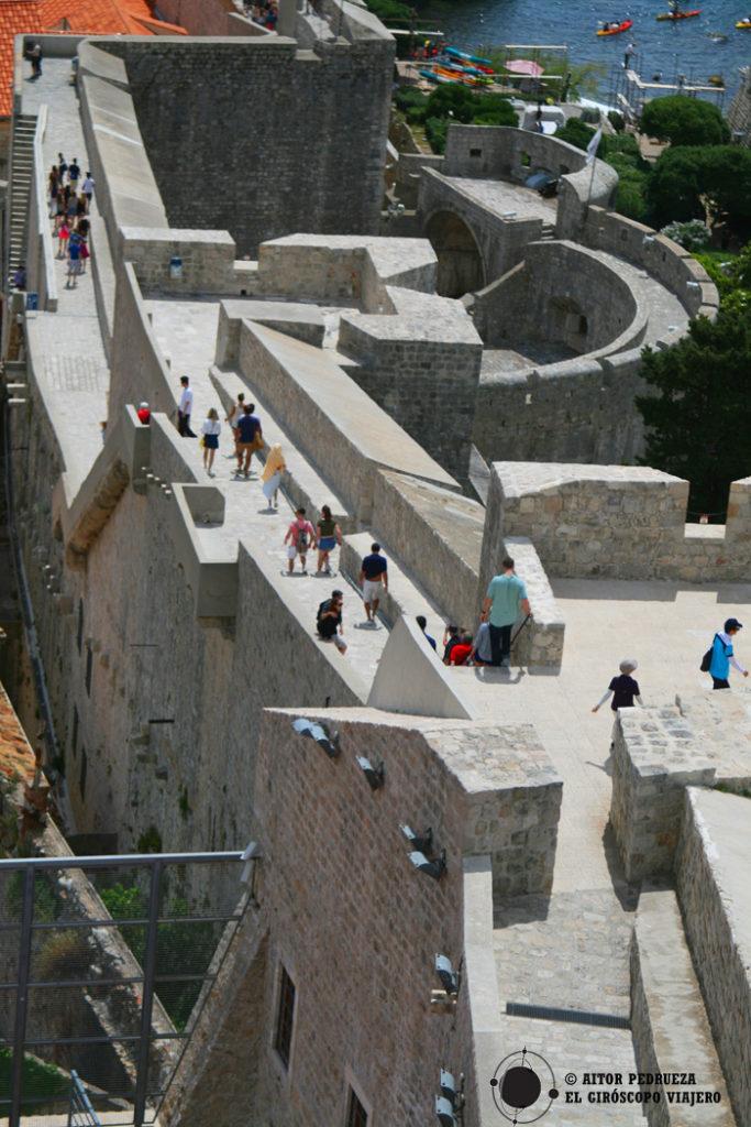 Ruta de las murallas de Dubrovnik