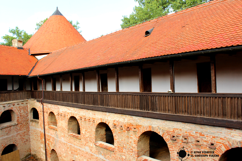 Interior del castillo de Sisak