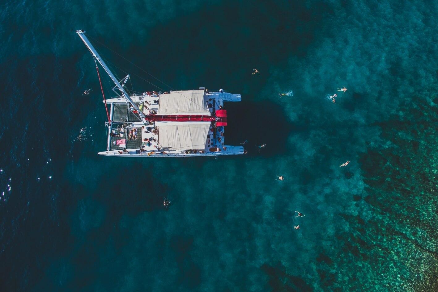 Catamarán desde Split a la isla de Brac